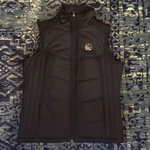Golden State Warriors quilted vest